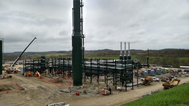Natural Gas Production Construction