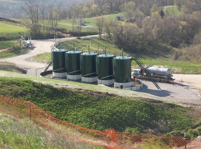 Tank Concrete Precession Foundations